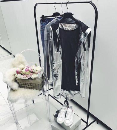 Серебряная парка achers, верхняя одежда для женщин большого размера интернет магазин