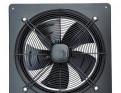 Вентилятор осевой с панелью 350мм (220В)