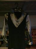 Платье triol белое с розовой юбкой, кофточки и др одежда
