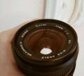 Vivitar (kino) 24mm, f2, canon fd, с адаптером на