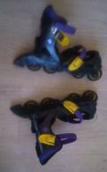 Ролики на обувь р-р 36-39 раздвижные