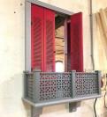 Зеркало со ставнями в средиземноморском стиле, Гатчина