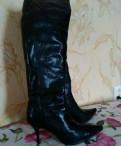 Ботфорты, женские туфли на широкую ногу, Кировск