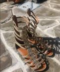 Обувь на низком ходу осень, сандали в греческом стиле, Павлово