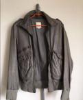 Кожаная куртка Diesel, L, джинсы стрейч мужские купить