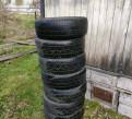 Dunlop 215/55/17 7 штук, шины на приору купить