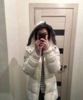 Куртка Adidas белая, купить горнолыжную одежду недорого