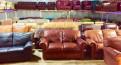 Кожаный диван из Финляндии