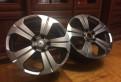 Диски литые реплика m\/t r16, диски Racing Wheels H-237. Пара