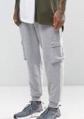 Серые спортивные штаны ASOS, футболки с принтом путина, Санкт-Петербург