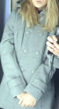 Шуба норка из хвостиков, пальто New Yorker