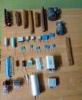 Конденсаторы, разъёмы, резисторы, реле и др