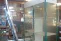 Витрина торговая стекляная