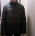 Куртка Пуховик, пиджаки мужские с заплатками на рукавах