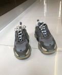 Ботинки замшевые puma женские, кроссовки balenciaga triple s