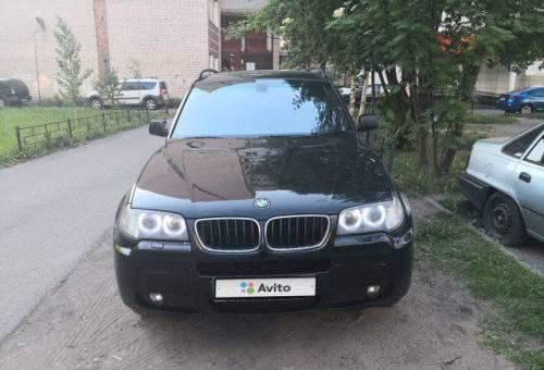 BMW X3, 2007, ленд ровер дефендер 2013