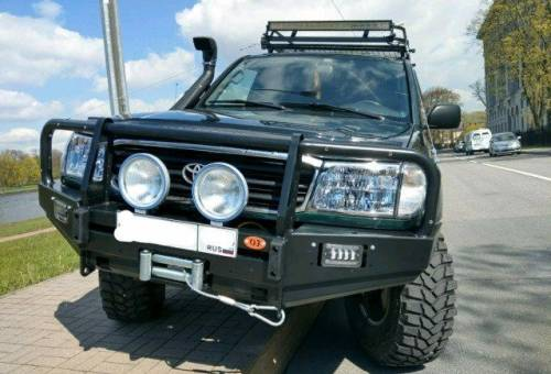 Toyota Land Cruiser, 1998, мерседес е класса w124