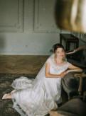 Платье свадебное, вечерние платья с прозрачной юбкой