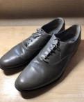 Кожаные ботинки Zara Man, молодежная мужская обувь зима
