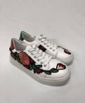 Кеды Gucci в цветах, кроссовки для бега фирмы, Советский
