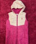 Пальто на осень женское, жилетка US polo assn, Саперное