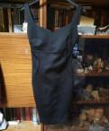 Мини платье Bershka, черное платье без рукавов американка, Санкт-Петербург