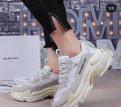 Спортивная обувь shamp, balenciaga Triple S Кроссовки Оригинал Качество