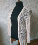 Кардиган ажурный Stradivarius, вязаное платье диор, Мурино