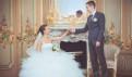 Белое платье разбитые блюдца, свадебное платье