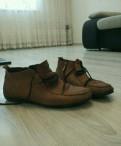 Мужская обувь из перфорированной кожи, полуботинки мужские, Санкт-Петербург