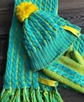 Женские шапочка, шарф, варежки adidas, одежда в стиле ланы дель рей