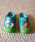 Шлепки кроксы toy story детские утепленные