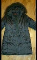 Платье реглан из крепа, куртка пуховик