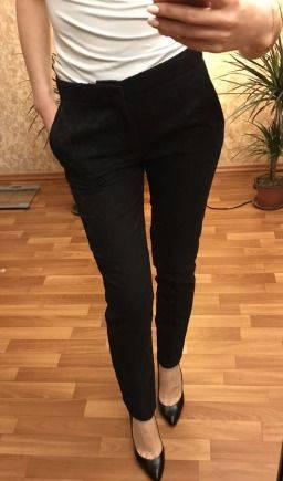 Брюки Zara XS новые, марки женской одежды российских дизайнеров