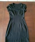 Платье на работу из джерси, платье черное S, Санкт-Петербург