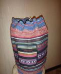 Сумка-рюкзак из индии новая