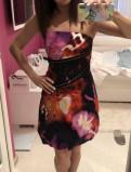 Karen millen платье S, платье с запахом на завязках