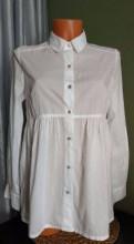 Блузка белая, платье из экокожи с кружевом внизу купить, Каменка