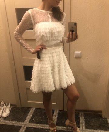 Платье белое, магазин обуви честер каталог и цены