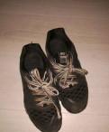 Зимняя обувь nike adidas, чёрные кроссовки 40 р