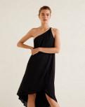 Одежда для девушек с большим животом и маленьким ростом, платье Mango