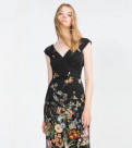 Купить красивое платье 54 размера в интернет магазине, платье Zara xs