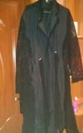 Ларедут интернет магазин одежды с бесплатной доставкой, плащ -пыльник, летний, черного цвета размер 54-56, Новое Девяткино