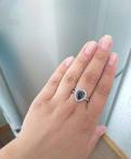 Серебряное колоцо с мистик- топазом