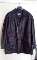 Мужской свитер реглан, куртка-Полупальто кожаное мужское Италия
