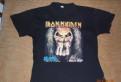 Рубашки мужские элитные, футболка Iron Maiden