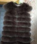 Женские кожаные куртки ivagio, жилетка из песца