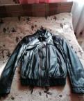 Мужской пиджак в клетку купить, куртка кожаная