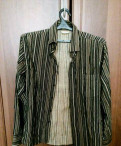 Модная рубашка фирмы Mixers, мужские куртки superdry