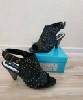 Купить кроссовки высокие черные женские, туфли новые